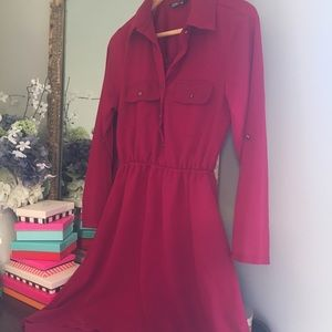 ♥️Hi-Lo Shirtdress